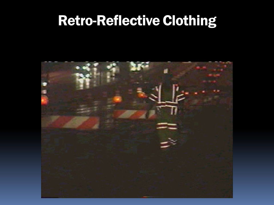 Retro-Reflective Clothing