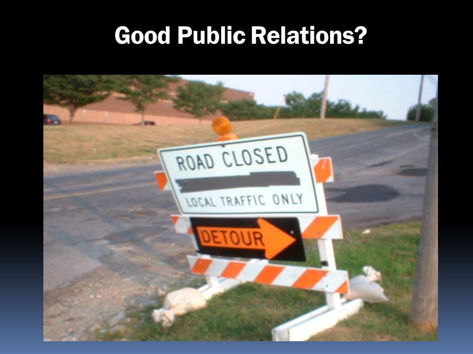 Good Public Relations