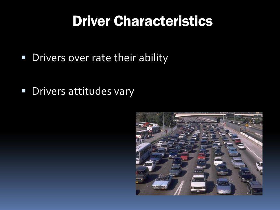 Driver Characteristics