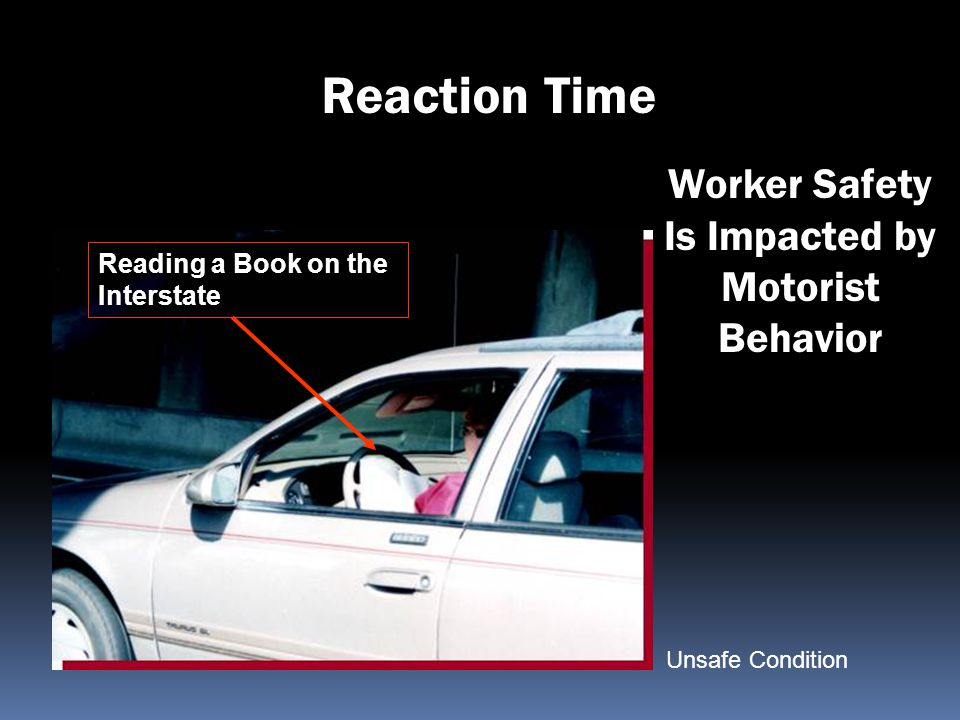Worker Safety Is Impacted by Motorist Behavior