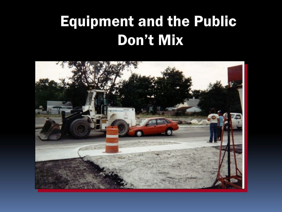 Equipment and the Public