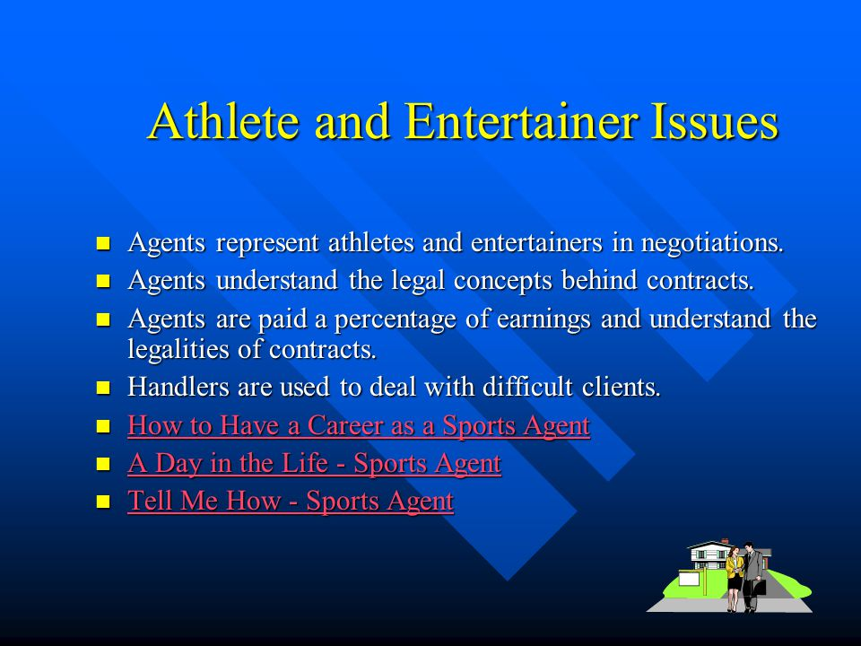 Athlete and Entertainer Issues