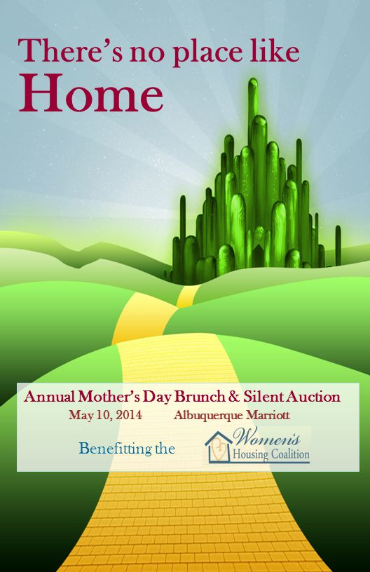 Home There's no place like Annual Mother's Day Brunch & Silent Auction