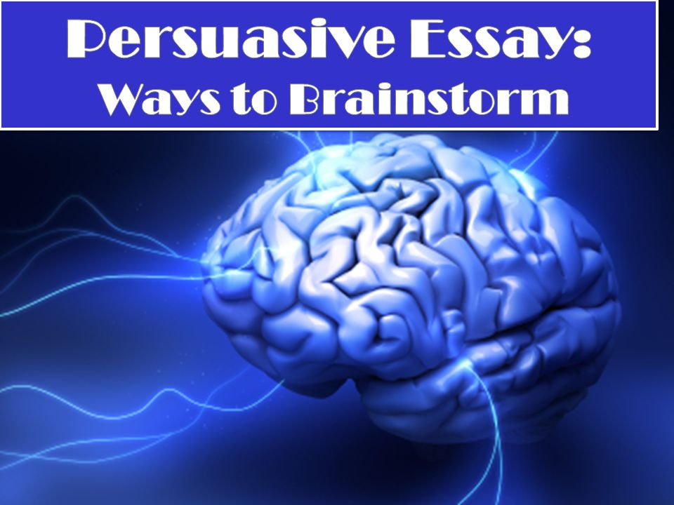 3 ways to brainstorm for an essay Where to begin 3 personal essay brainstorming the best way to approach the personal essay is to brainstorm what it is you one way is to discuss a.