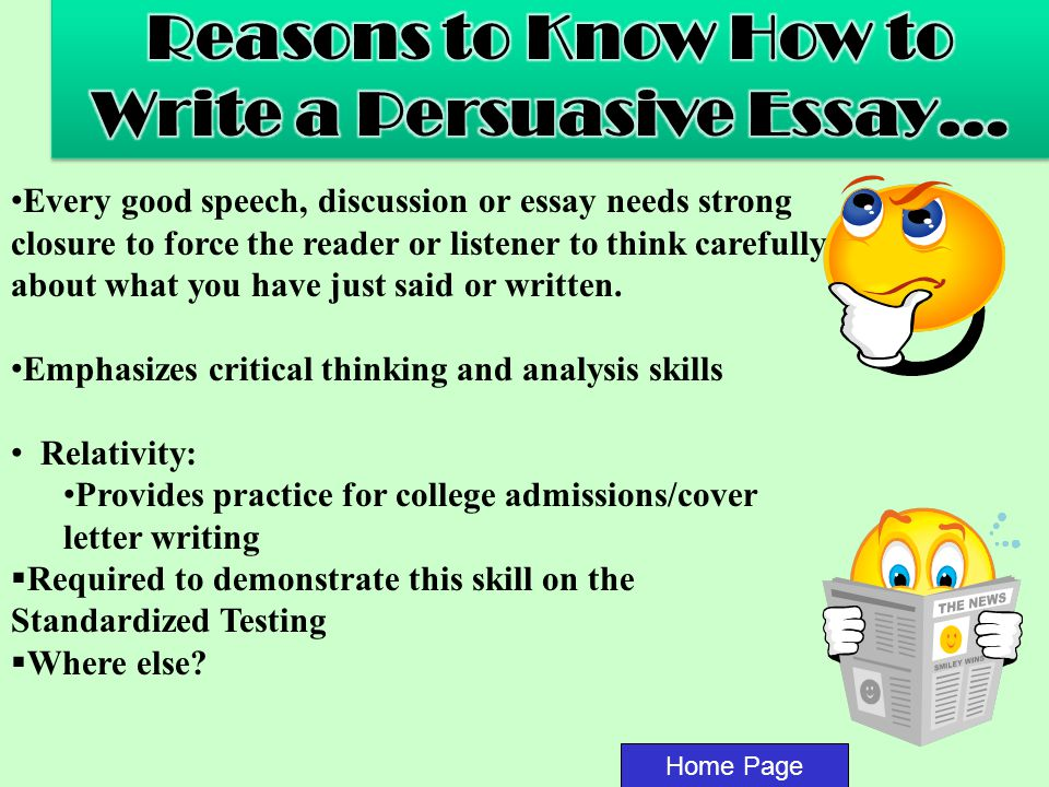 persuasive essay already written How to write a persuasive essay but they also believe that they've already your eyes may become so used to reading what you think you've written.