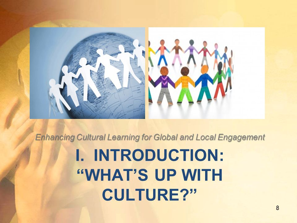 I. Introduction: What's Up with Culture