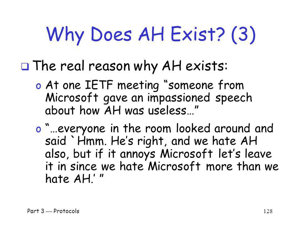 Why Does AH Exist (3) The real reason why AH exists: