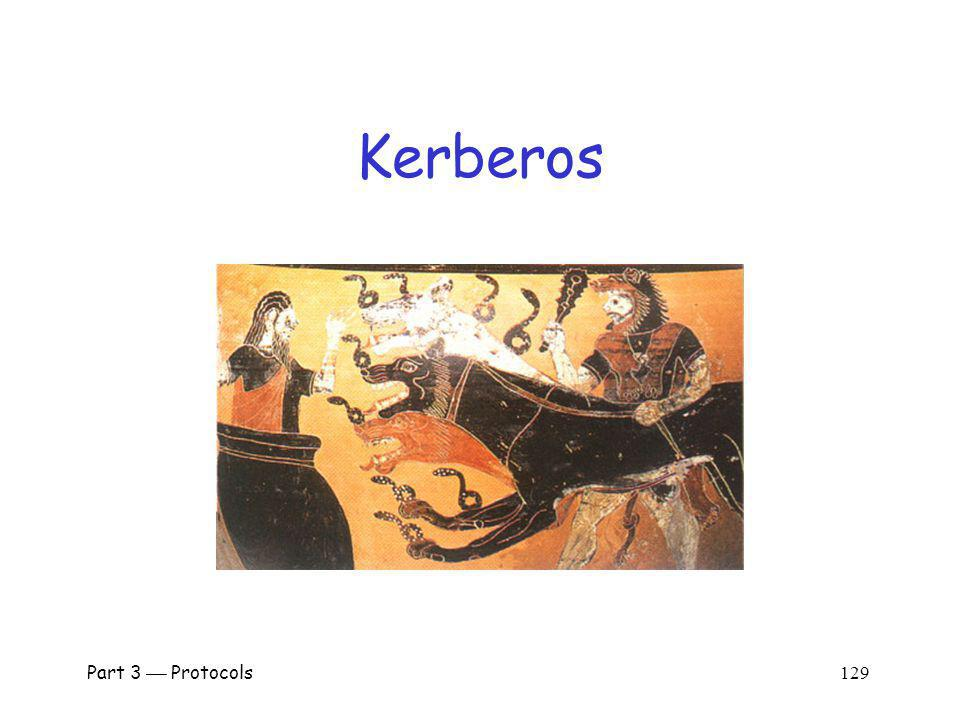 Kerberos Part 3  Protocols 129.