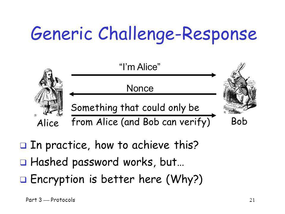 Generic Challenge-Response