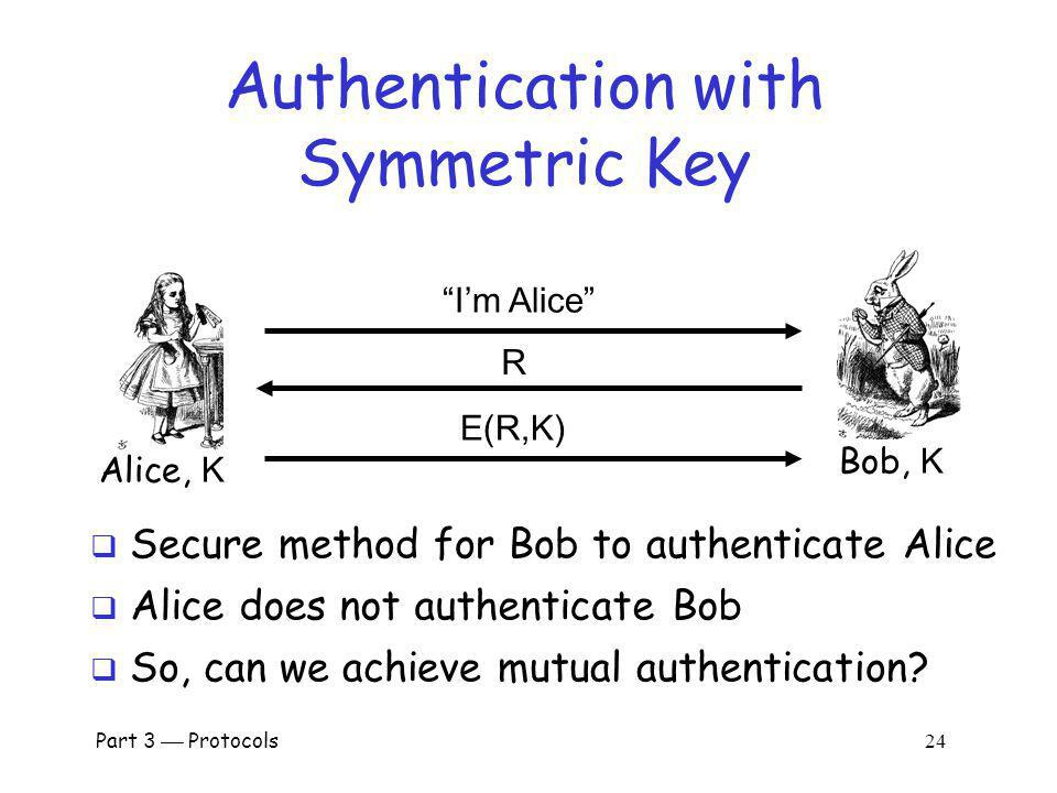 Authentication with Symmetric Key
