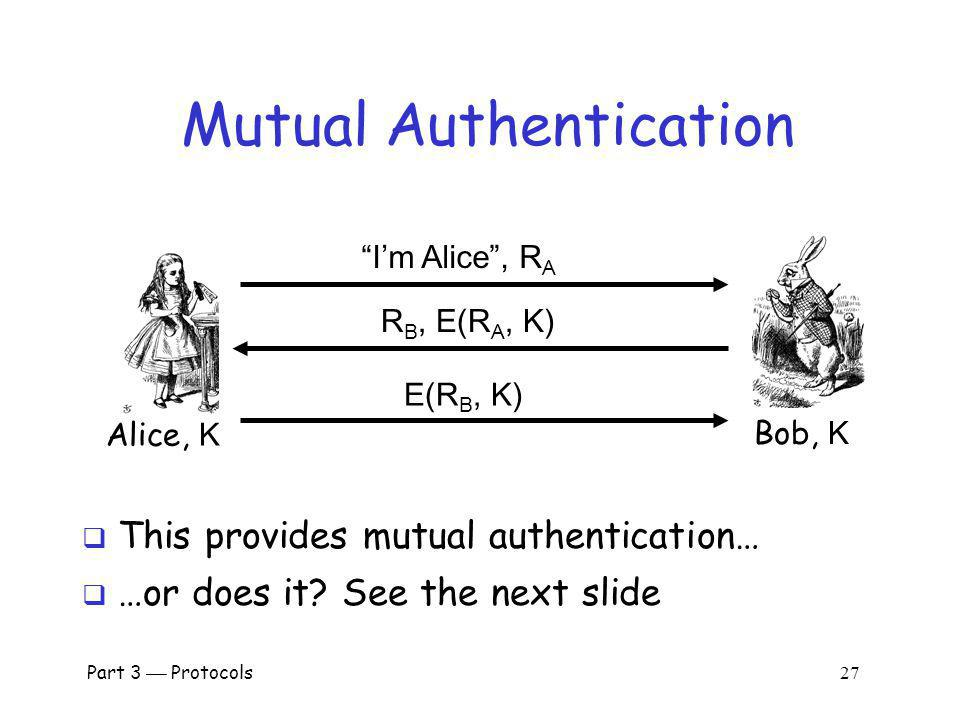 Mutual Authentication