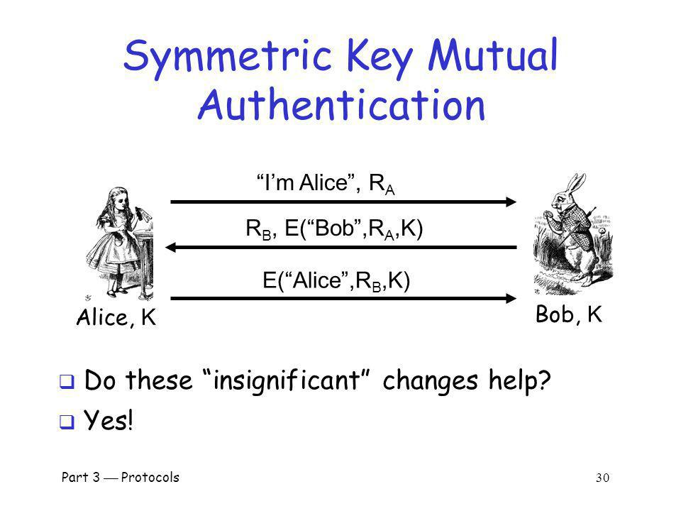 Symmetric Key Mutual Authentication