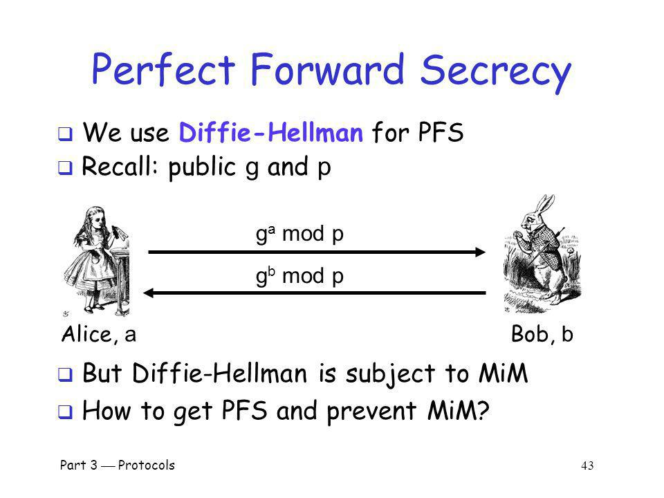 Perfect Forward Secrecy