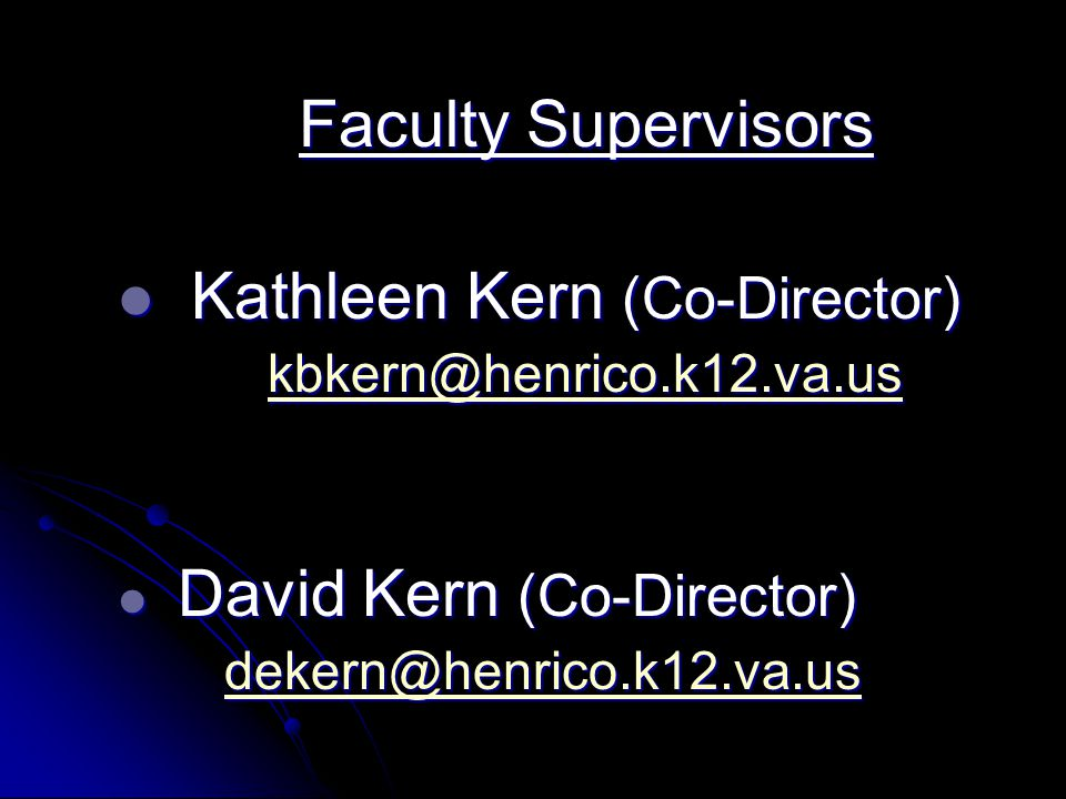 Kathleen Kern (Co-Director)