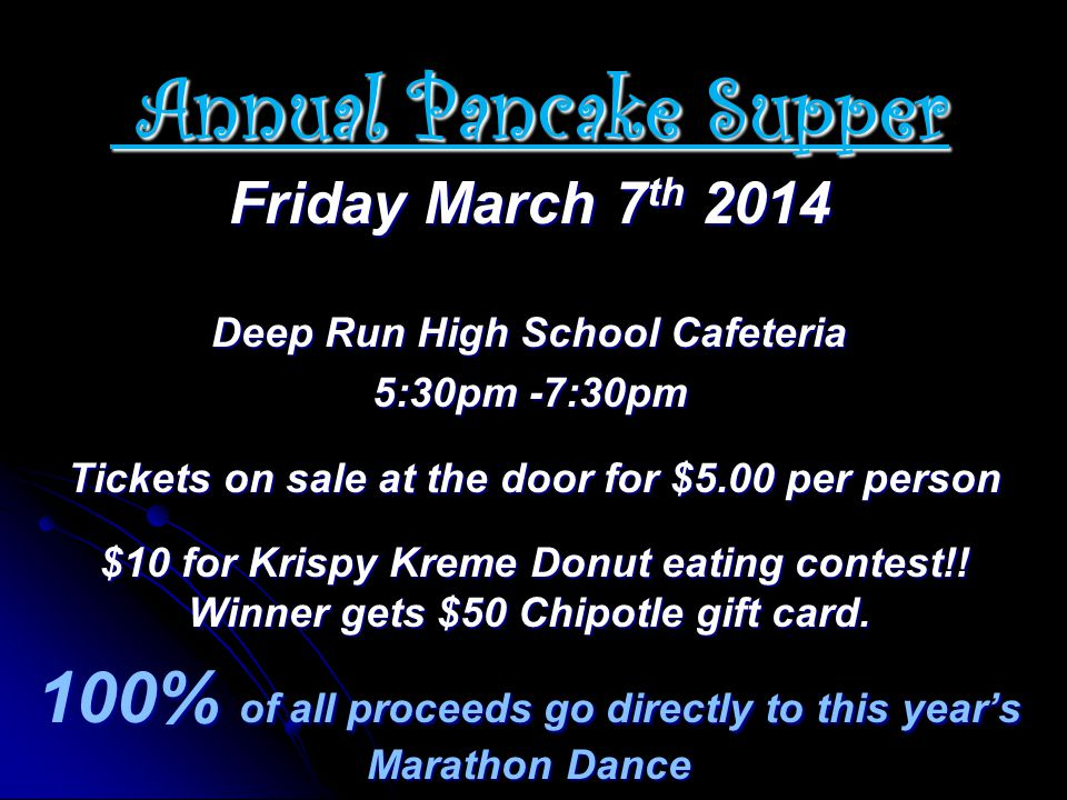 Deep Run High School Cafeteria