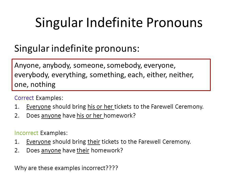 Indefinite pronouns (video) | Khan Academy