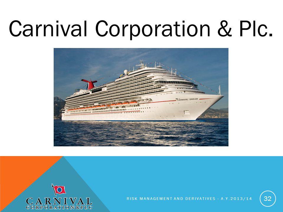 Carnival Corporation & Plc.