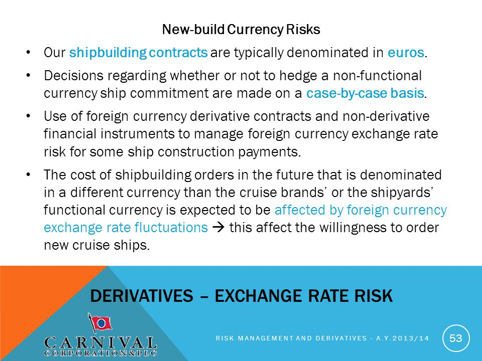 New-build Currency Risks