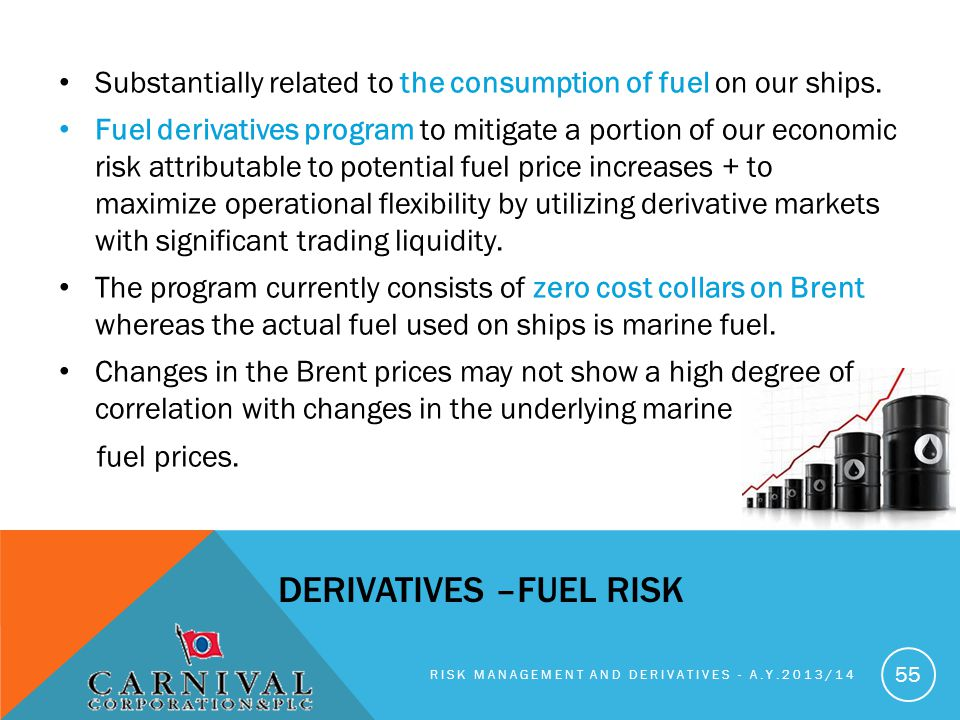 DERIVATIVES –fuel risk