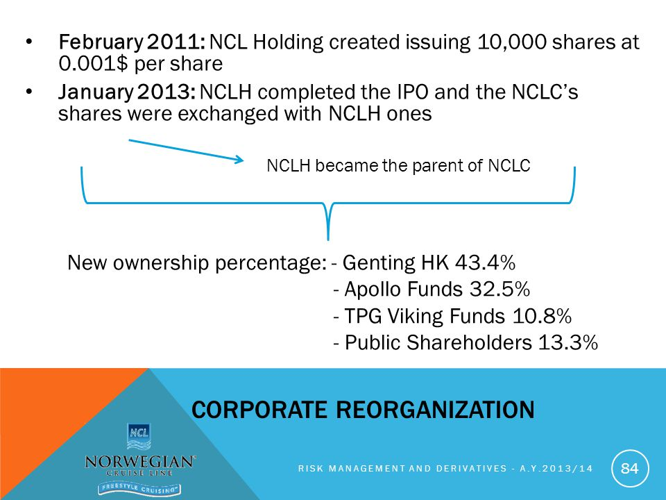 Corporate reorganization