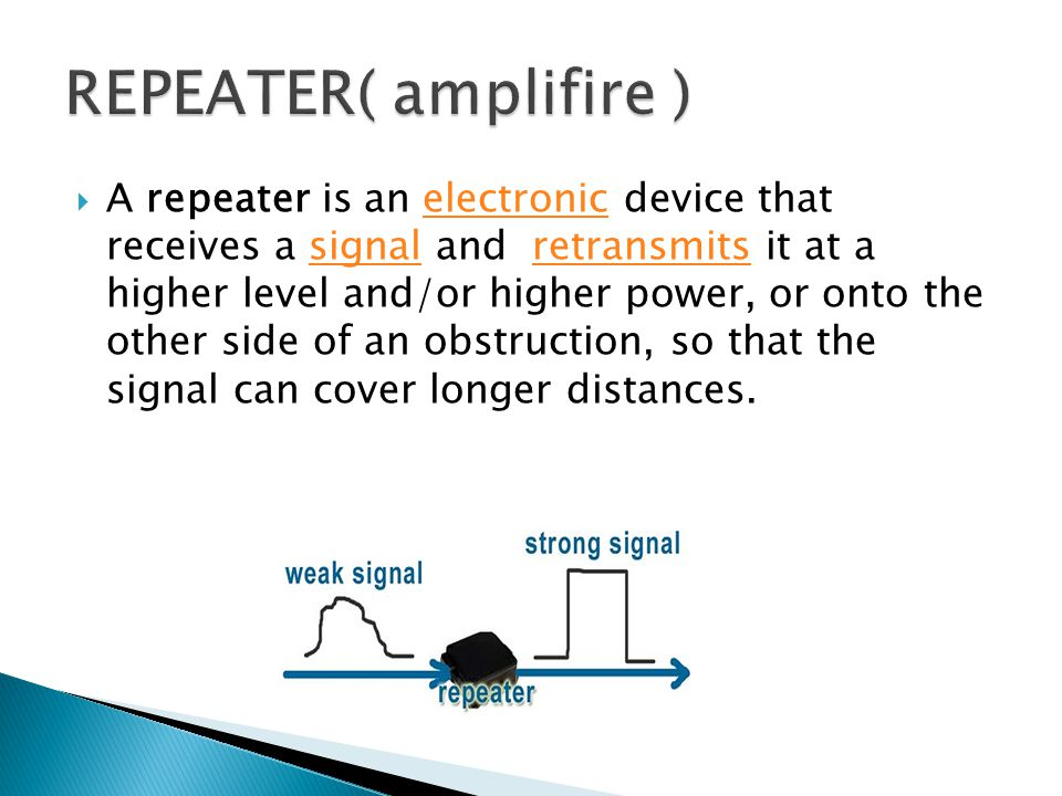 REPEATER( amplifire )