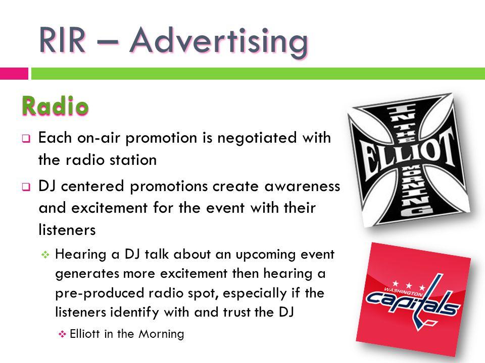 RIR – Advertising Radio