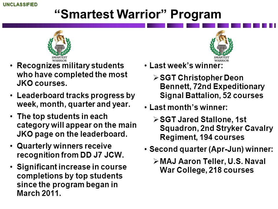 Smartest Warrior Program