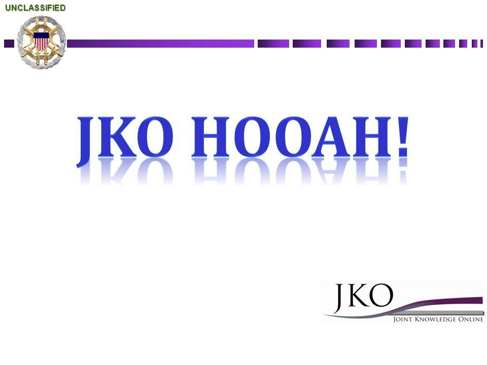 UNCLASSIFIED JKO HOOAH! WJTSC 12-2