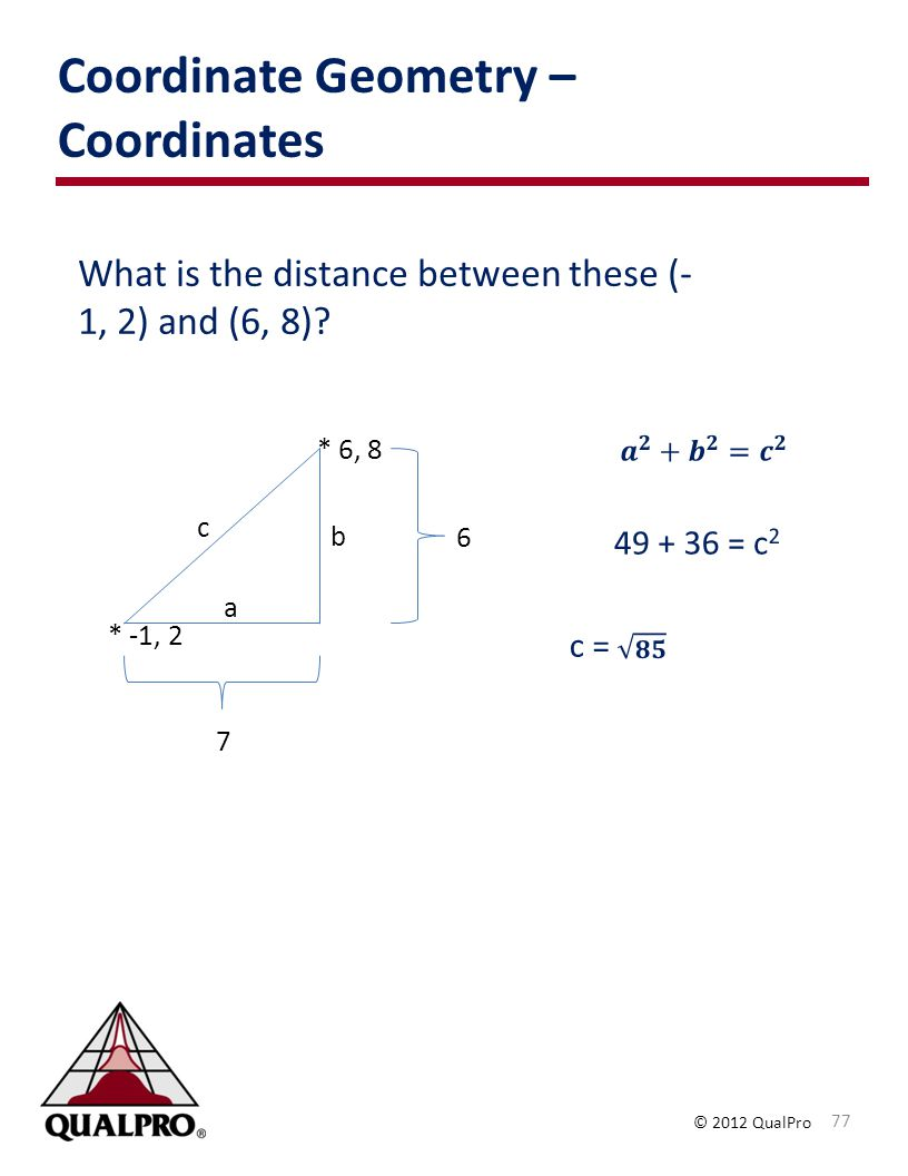 Coordinate Geometry – Coordinates