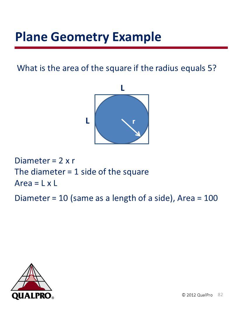 Plane Geometry Example