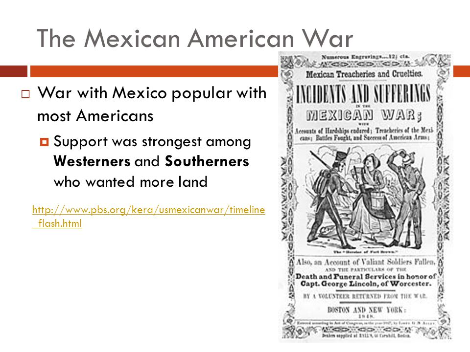 The Mexican American War