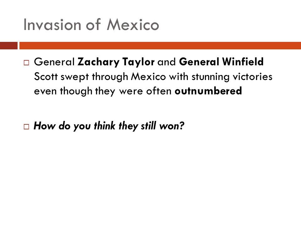 Invasion of Mexico