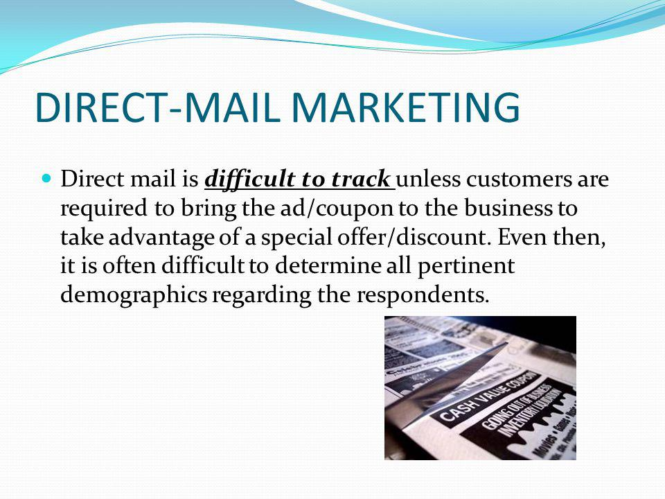 DIRECT-MAIL MARKETING