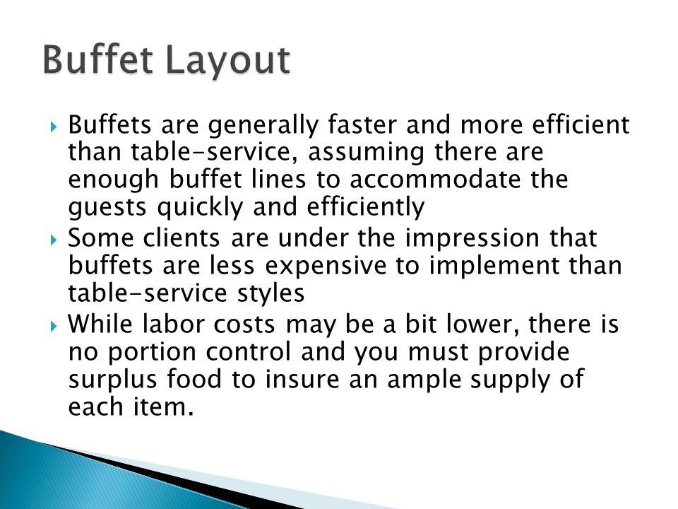 Buffet Layout