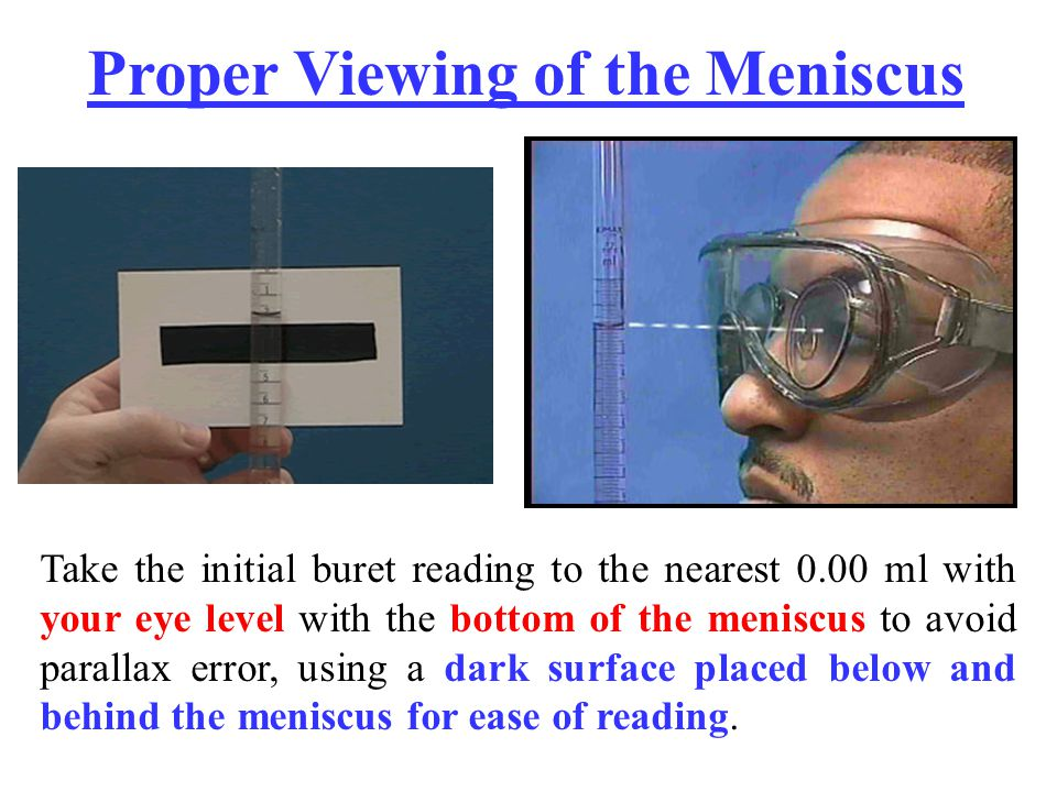 Proper Viewing of the Meniscus