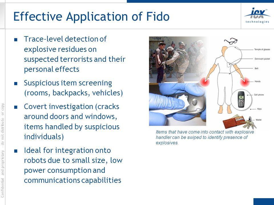 Effective Application of Fido