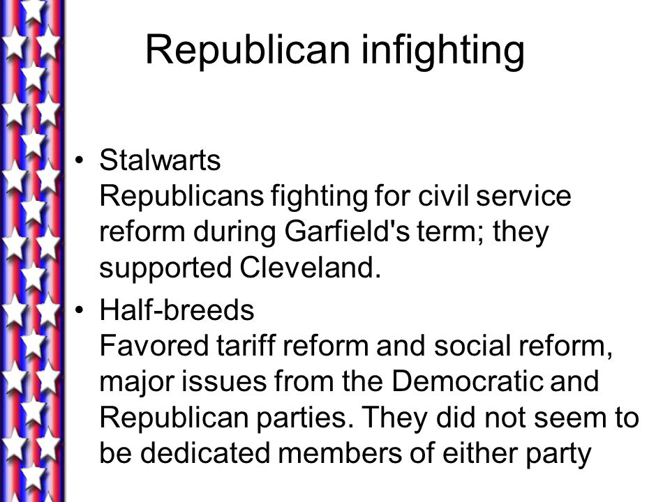 Republican infighting