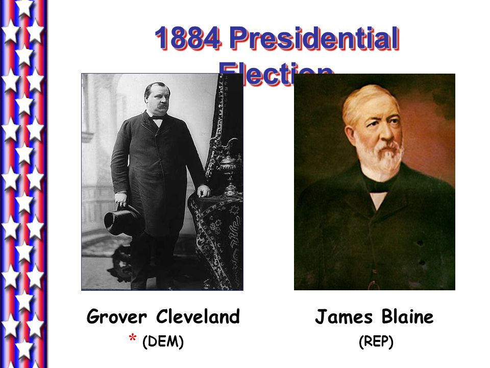 1884 Presidential Election