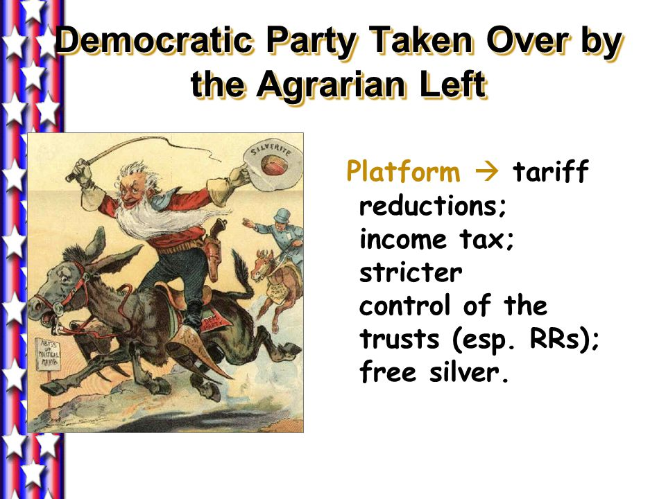 Democratic Party Taken Over by the Agrarian Left