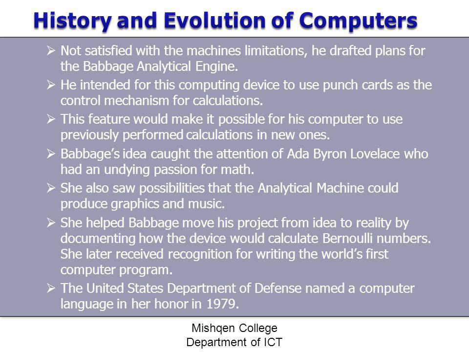 short essay computer history Free essay on early computers: a history of computing available totally free at echeatcom, the largest free essay community.