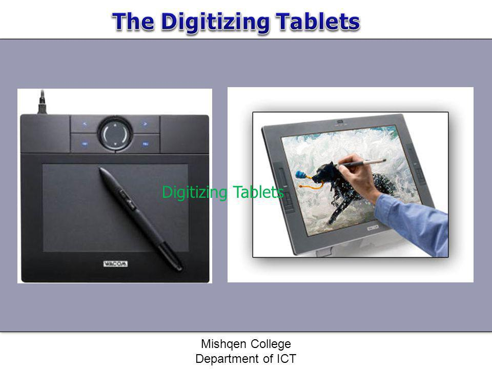 The Digitizing Tablets