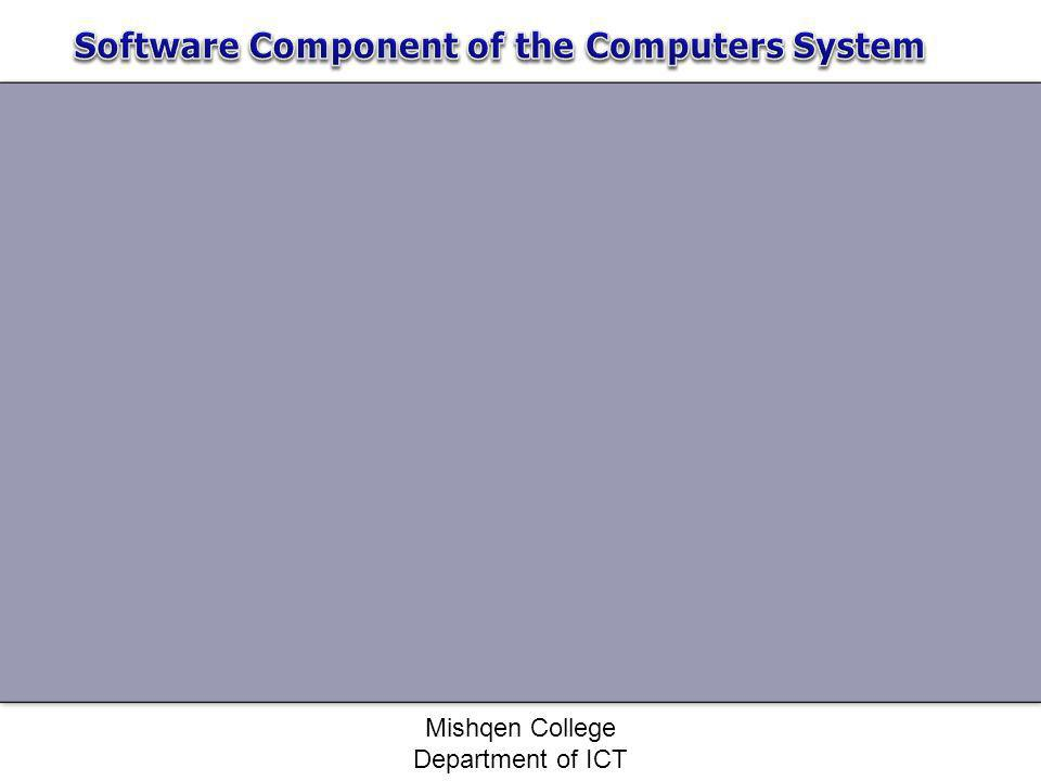 Software Component of the Computers System