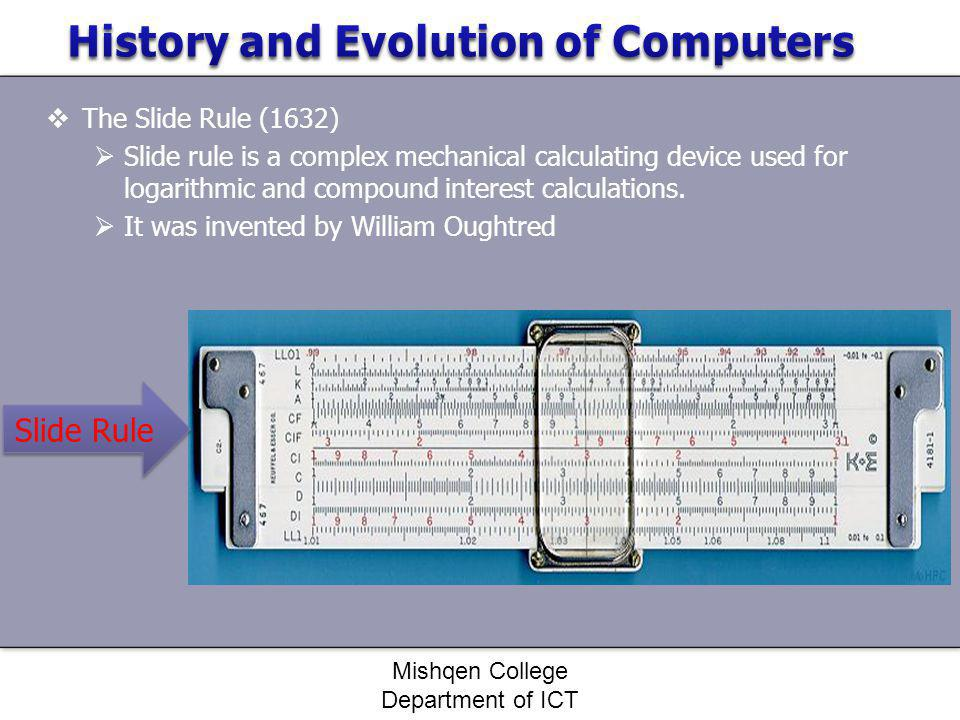 History and Evolution of Computers