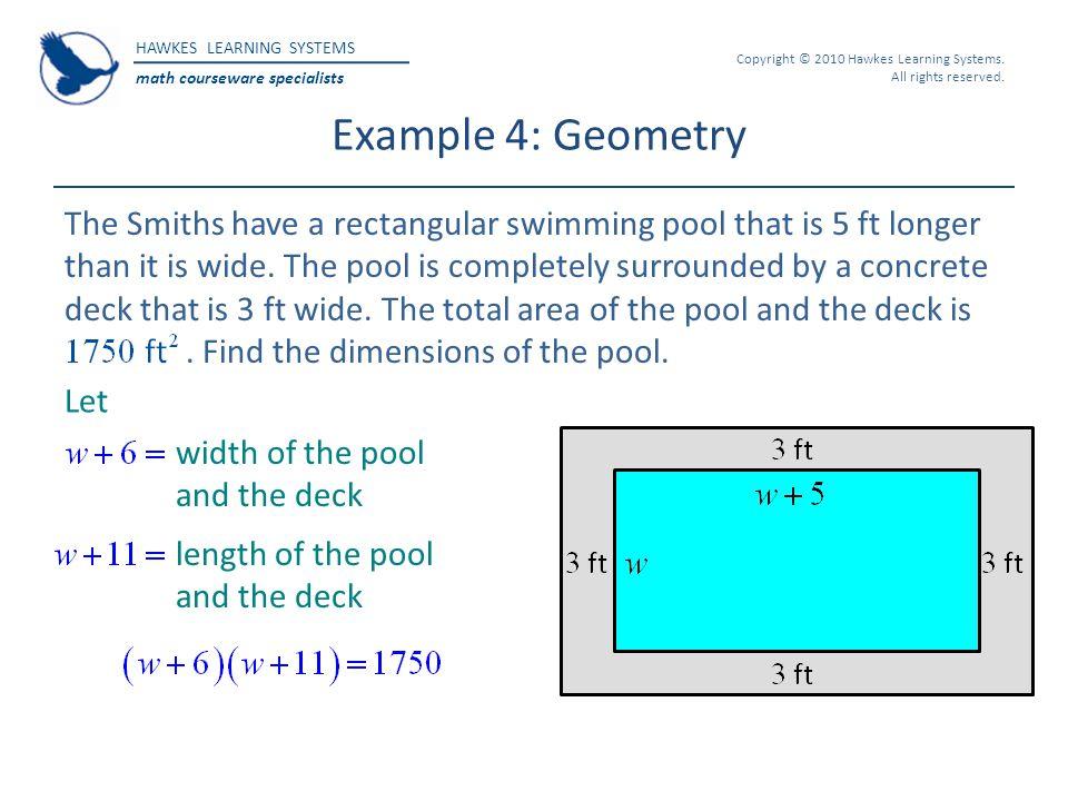 Example 4: Geometry