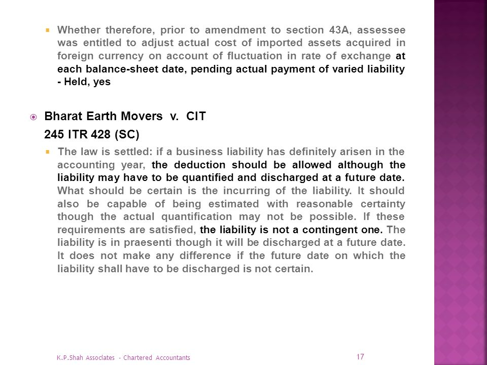 Bharat Earth Movers v. CIT 245 ITR 428 (SC)