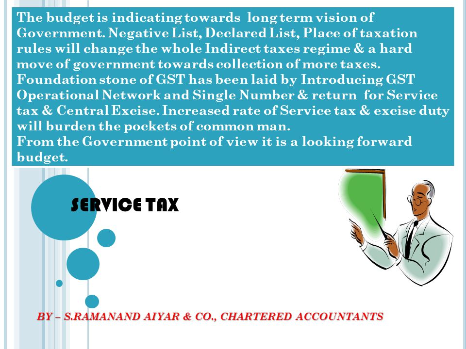 BY – S.RAMANAND AIYAR & CO., CHARTERED ACCOUNTANTS