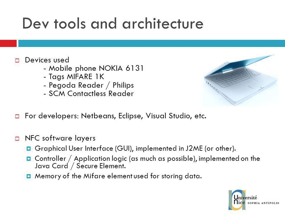 Dev tools and architecture