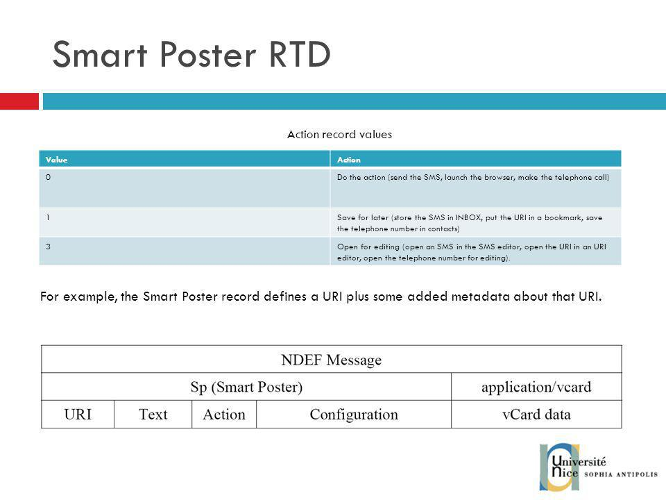 Smart Poster RTD MAY SHALL