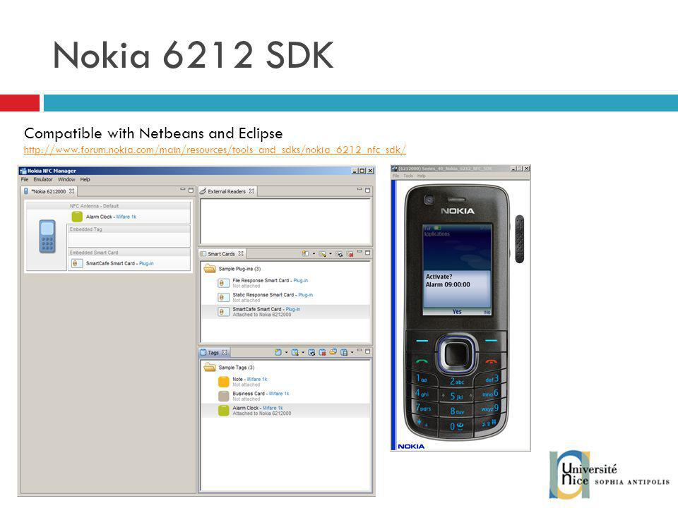 Nokia 6212 SDK Compatible with Netbeans and Eclipse