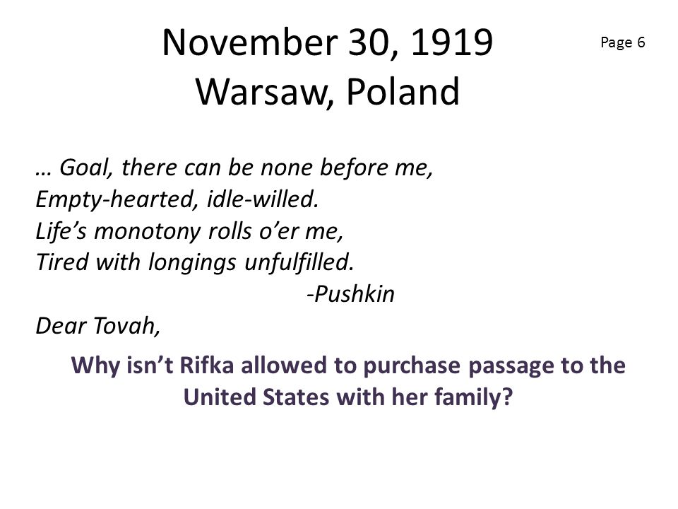 November 30, 1919 Warsaw, Poland